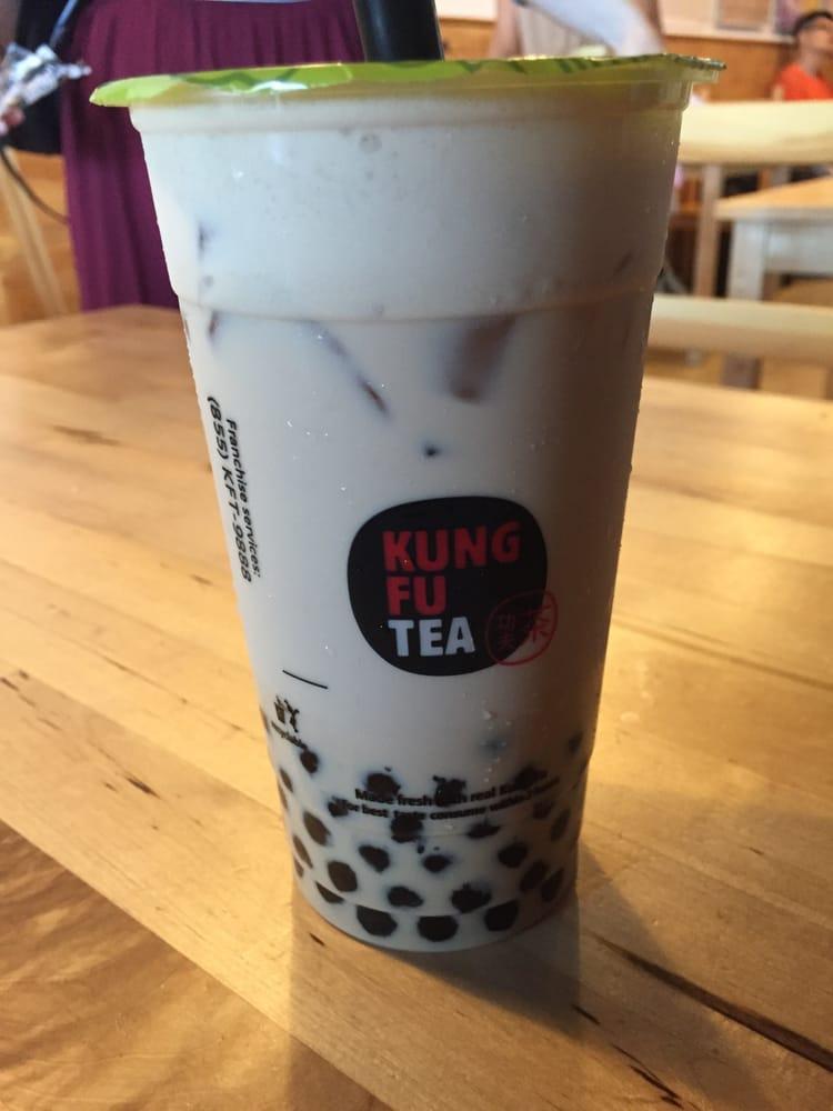 Kung Fu Milk Tea - Yel...