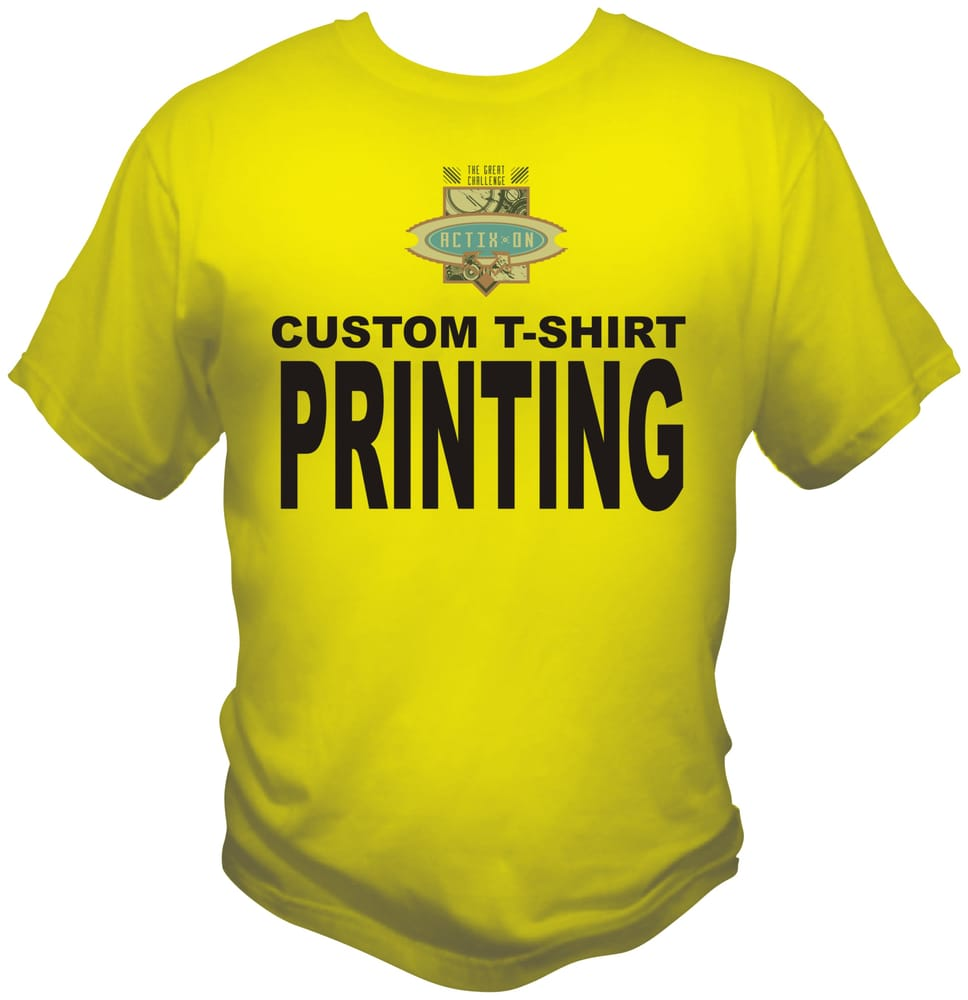 Screen Printing Custom T Shirts In St Louis St Charles Ofallon