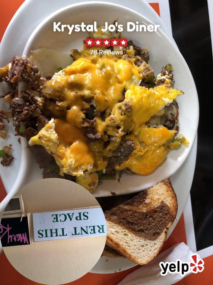 Food from Krystal Jo's Diner
