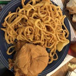 Photo Of Helen S Restaurant Ellsworth Me United States Haddock