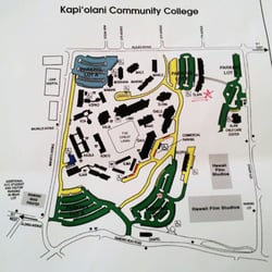 Honolulu Community College Campus Map.Kapiolani Community College Map Compressportnederland