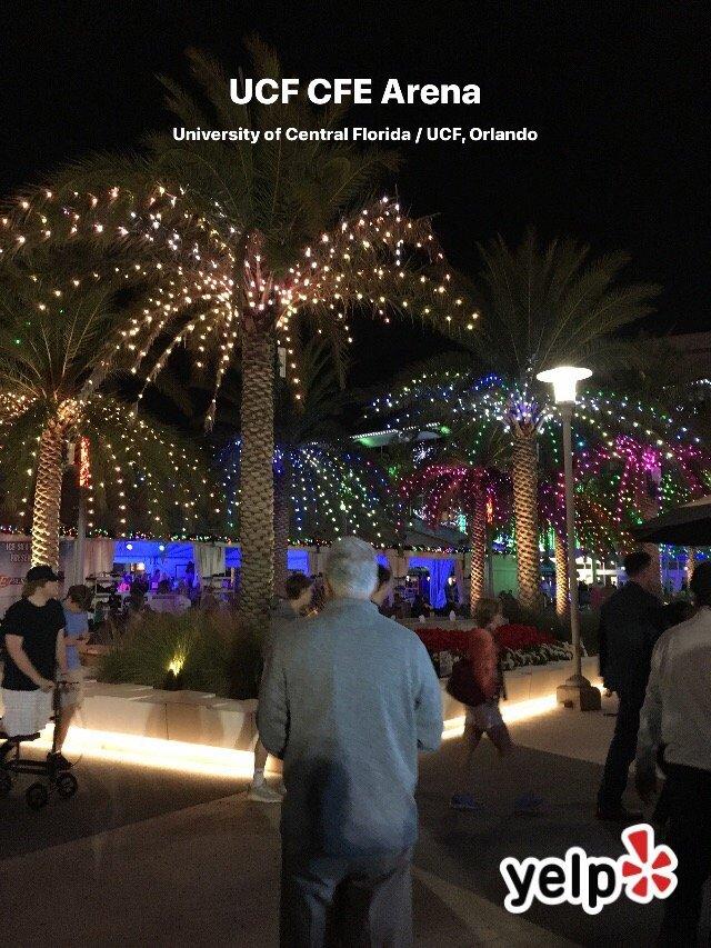UCF CFE Arena: 12777 Gemini Blvd N, Orlando, FL