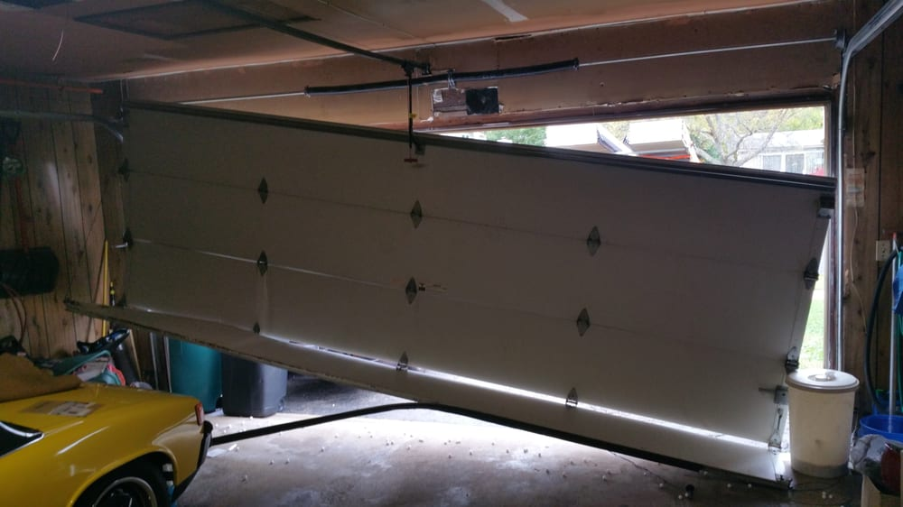 Off track garage door repair yelp for Garage door repair tacoma