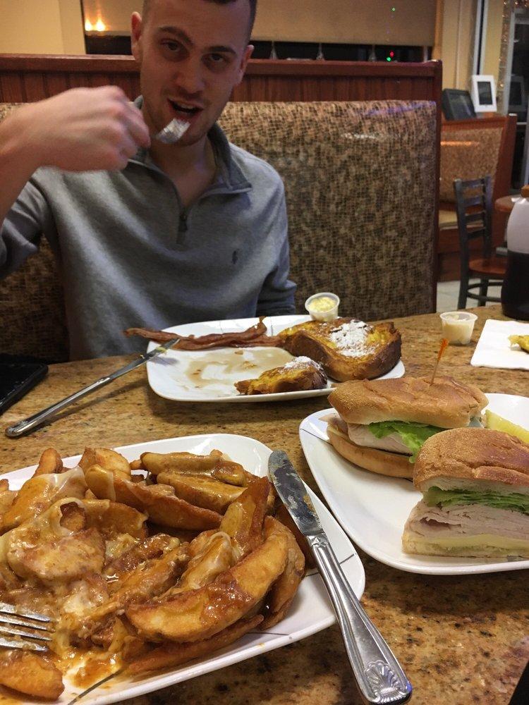 Food from Elm Diner