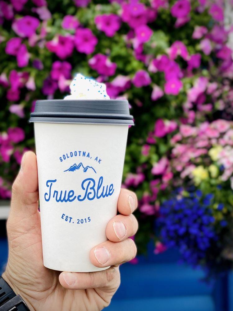True Blue Drive-Thru: 41626 Sterling Hwy, Soldotna, AK
