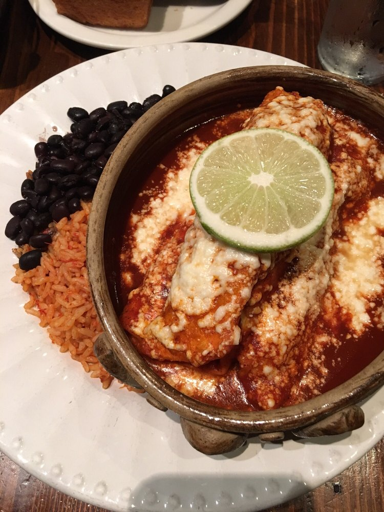 Chicken enchiladas that sauce though yelp for Agave mexican cuisine