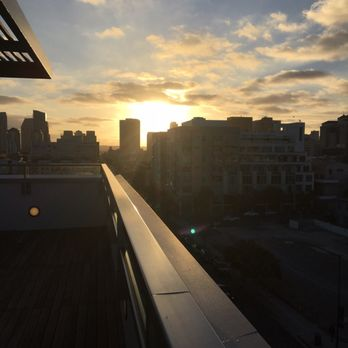 Photo Of Ev Lofts San Go Ca United States Rooftop At Sundown