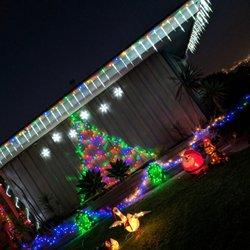 photo of point loma garrison street christmas lights san diego ca united states