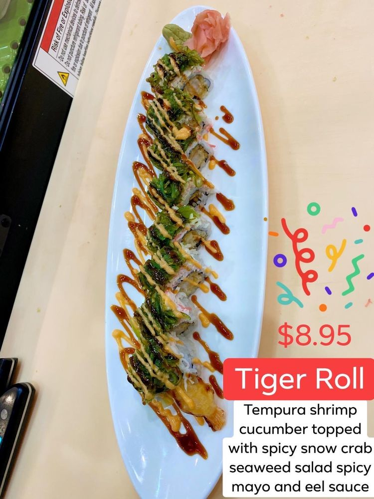 Kobe Hibachi Grill & Sushi: 410 S Columbia Ave, Rincon, GA