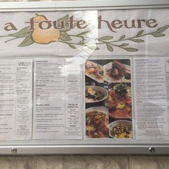 A Toute Heure Restaurant Cranford Nj