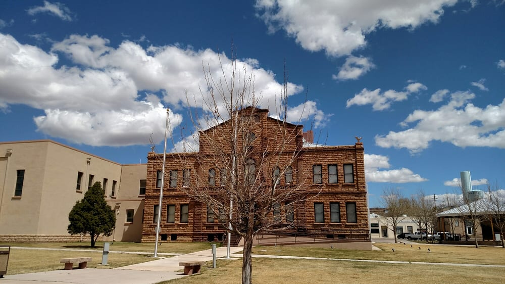 Historical Guadalupe County Courthouse: 130 South 4th St, Santa Rosa, NM