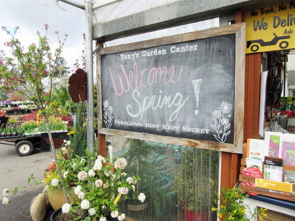 Tony S Garden Center 34 Photos 28 Reviews Gardening Centres 10300 Se Holgate Blvd Lents