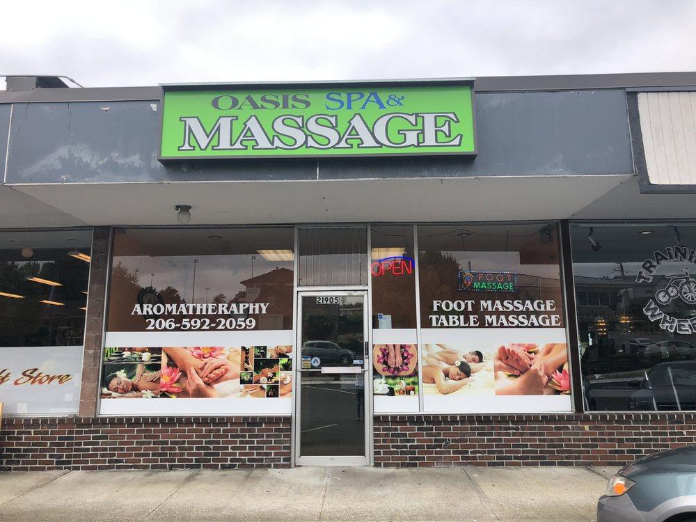 oasis massage SPA: 21905 Marine View Dr S, Des Moines, WA