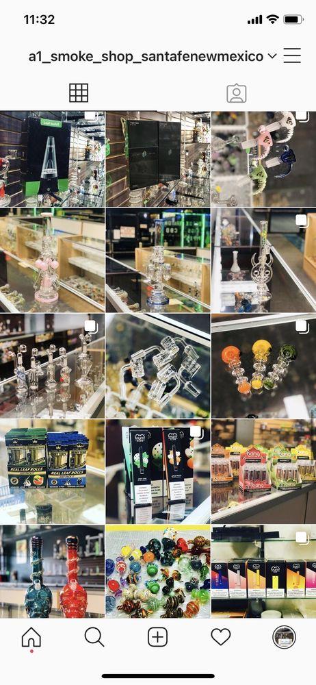 A1 Smoke Shop: 2860 Cerrillos Rd, Santa Fe, NM