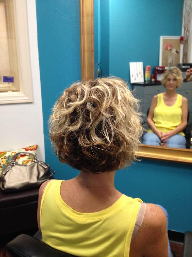 Natural Curly Bob Hair Cut Yelp
