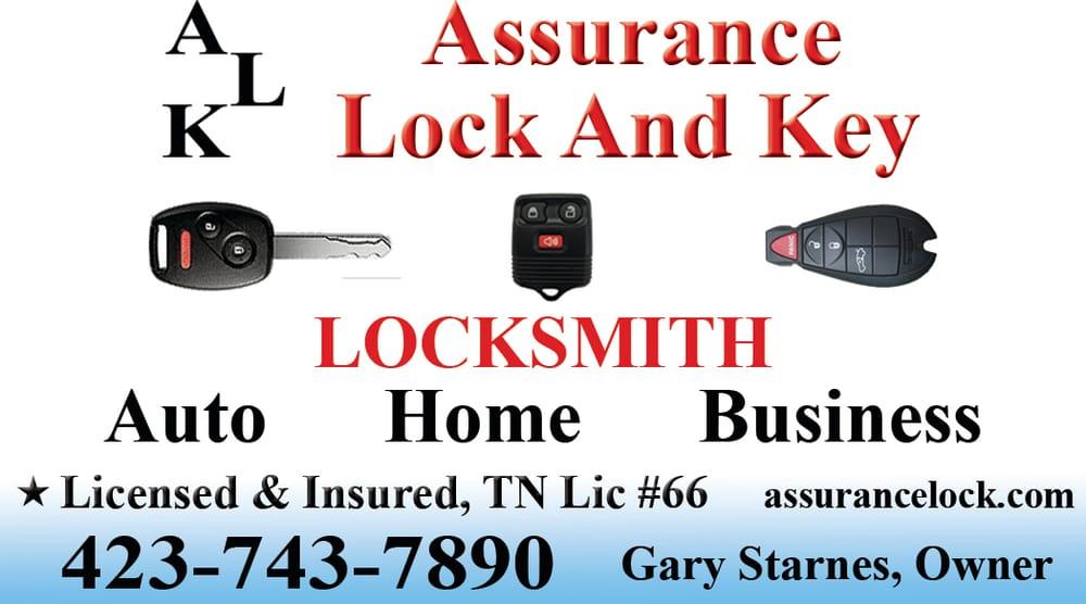 Assurance Lock And Key: Erwin, TN