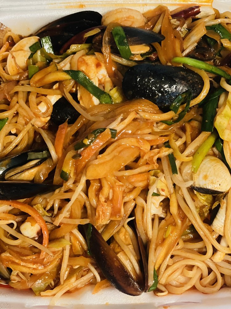 Food from Jjin Jjajang