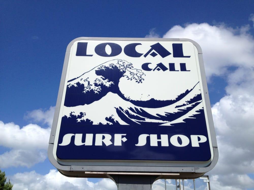Local Call Surf Shop: 8417 E Oak Island Dr, Oak Island, NC