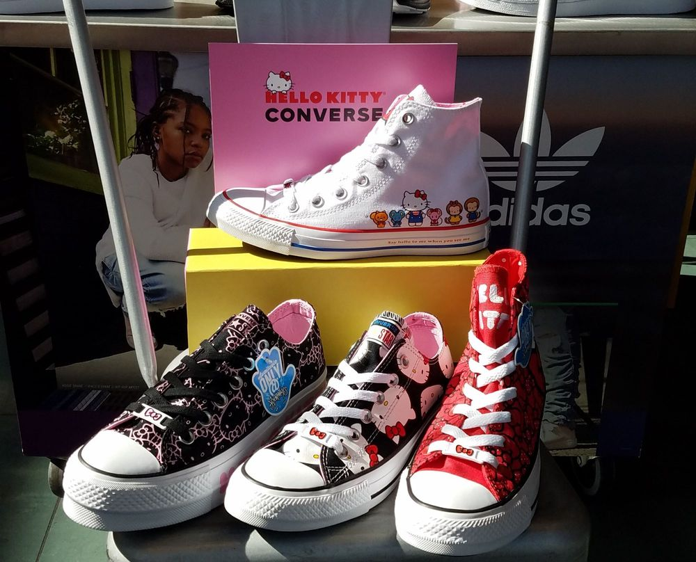 ba4b60c91047 Hello Kitty  Converse collaboration available for a limited time! - Yelp