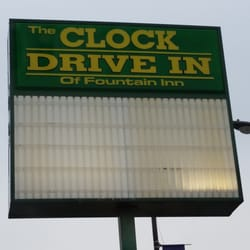 Clock Drive In Of Fountain American New 303 S Main St