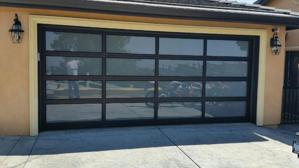 New Modern Tech Glass Door Design Done In Granite Bay Yelp