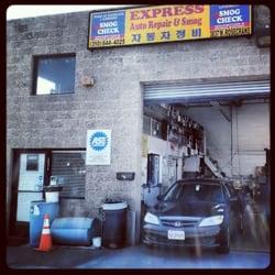 Lube Stop Near Me >> Express Auto Repair & Smog - Auto Repair - 3837 W ...