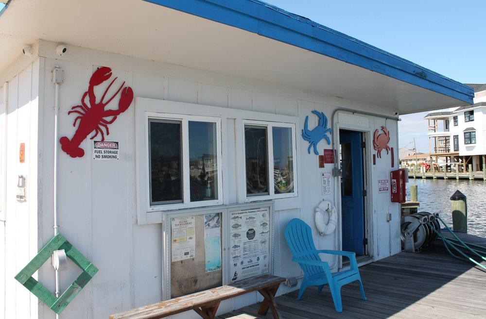 Chadwick Island Marina: 400 Strickland Blvd, Chadwick Beach, NJ