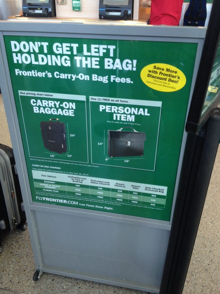 Photo Of Frontier Airlines Baggage Service Oklahoma City Ok United States Ridiculous