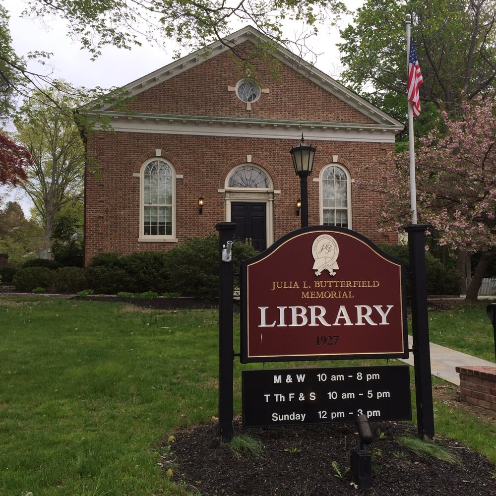 Julia L. Butterfield Memorial Library: 10 Morris Ave, Cold Spring, NY