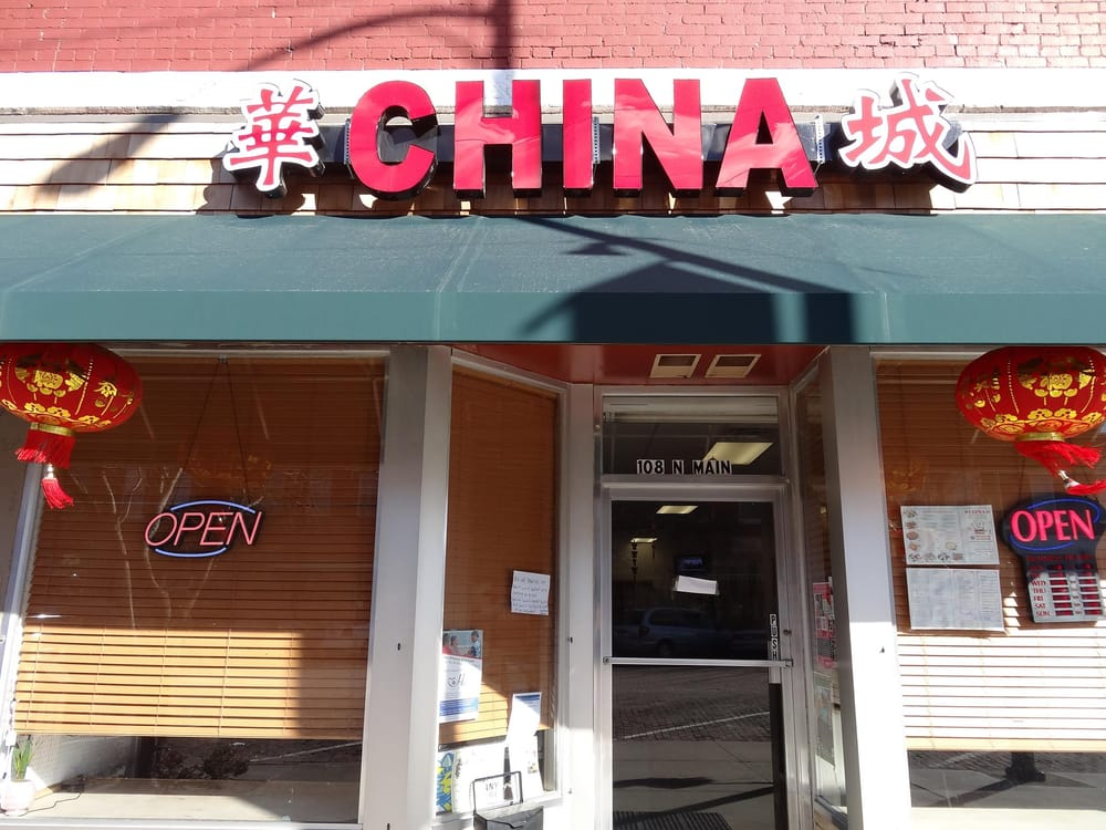 China Restaurant: 108 N Main St, Lindsborg, KS