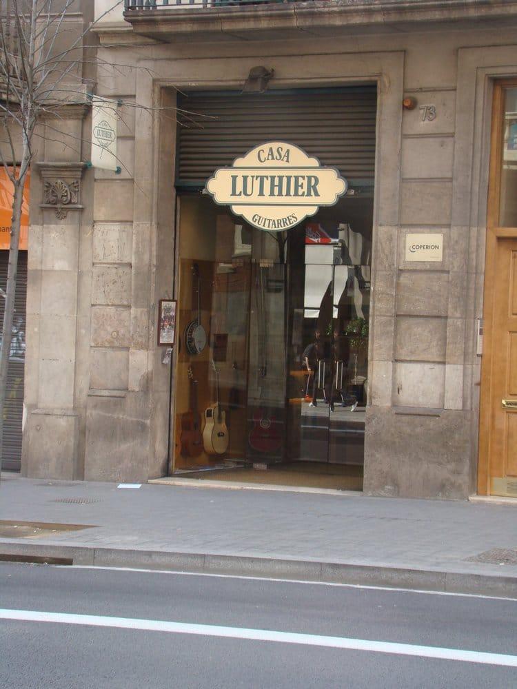 Casa luthier arts crafts carrer de balmes 73 l 39 eixample barcelona spain phone number - Casa luthier barcelona ...