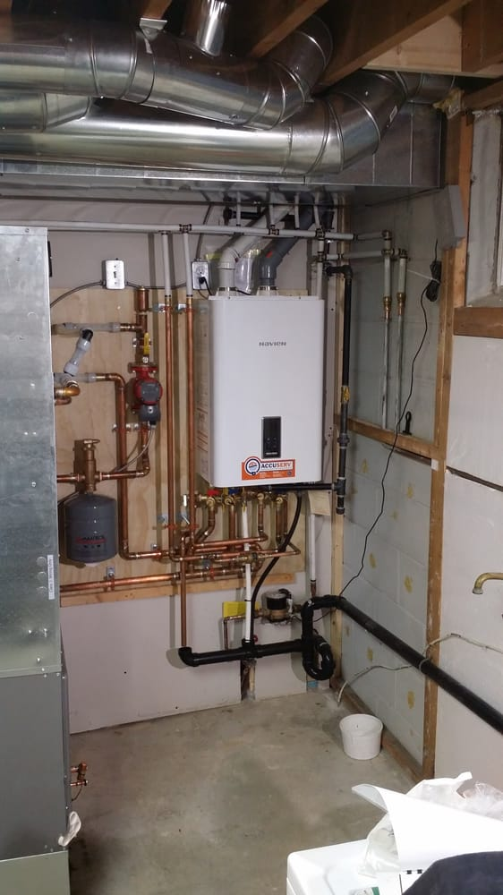 Navien Ncb Boiler Installed In Toronto With New High