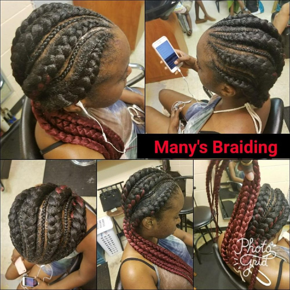 Many's African Hair Braiding: 1439 Old Salem Rd SE, Conyers, GA