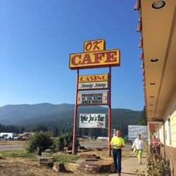 Photo Of Ok Cafe Saint Regis Mt United States From The Outside