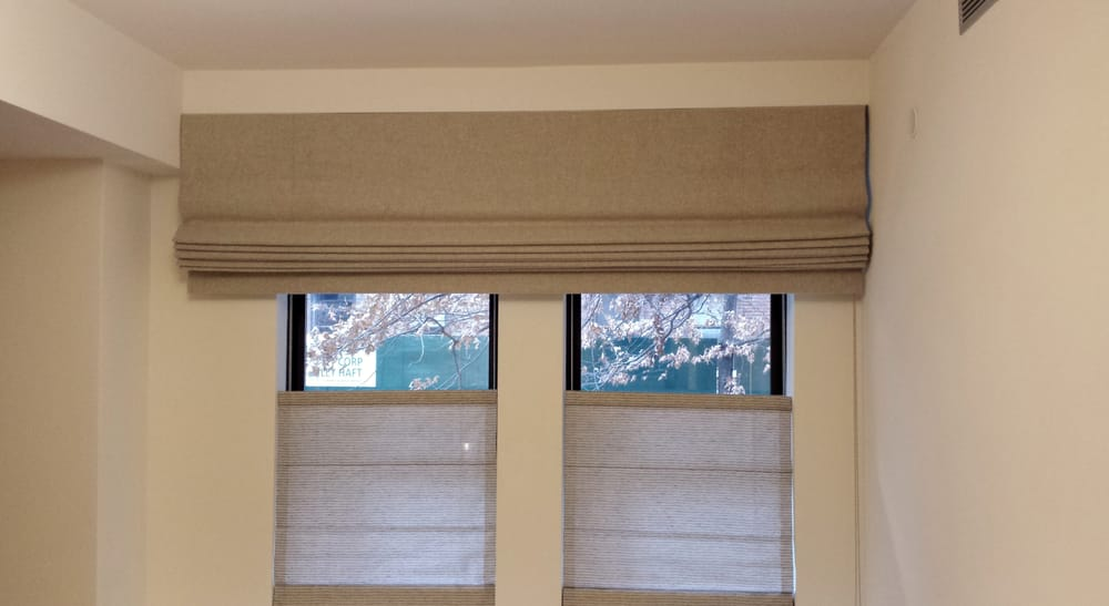 Cascade Roman Shades Nyc Top Down Bottom Up Custom
