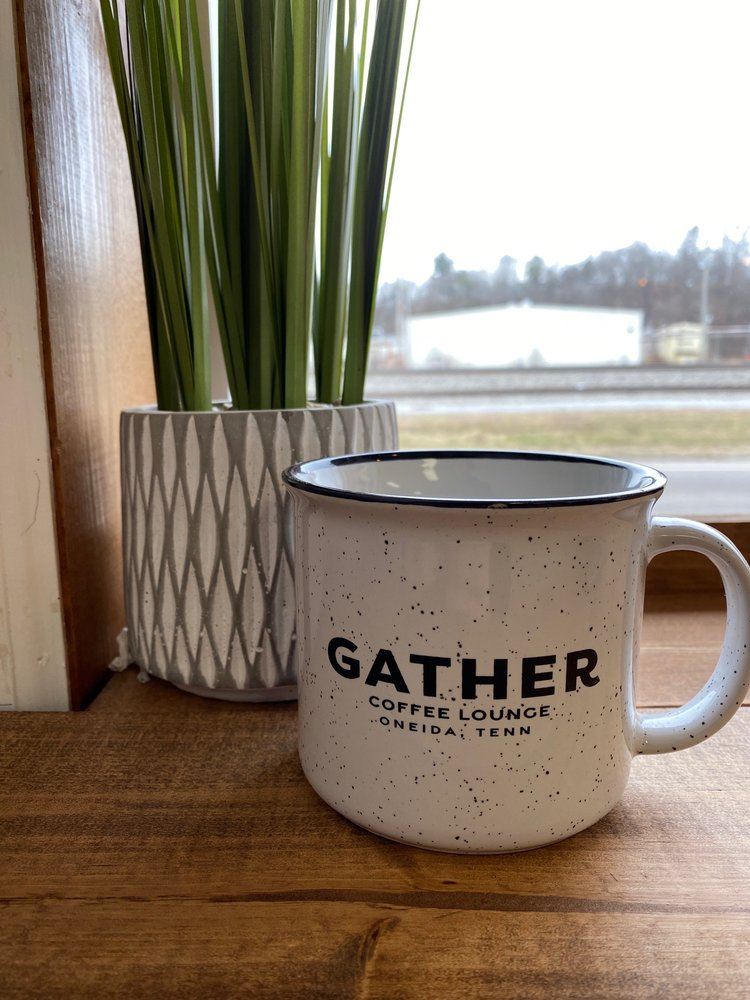 Gather Coffee Lounge: 213 Depot St., Oneida, TN