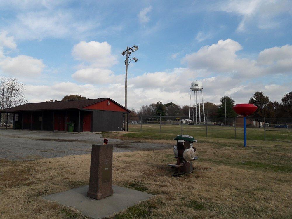 Paulette Johnson playground: 701 W Main St, De Soto, IL