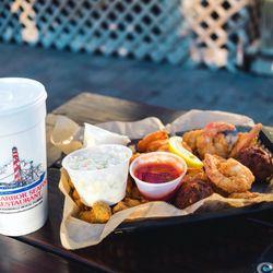 Photo Of Safe Harbor Seafood Restaurant Jacksonville Beach Fl United States Fried