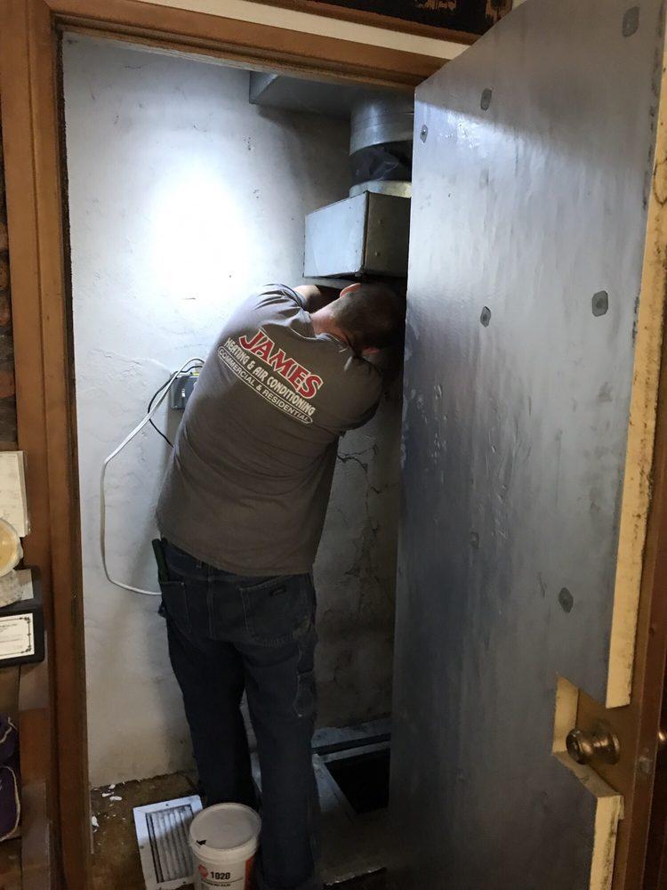 James Heating & Air Conditioning: 2060 Vista Ave SE, Salem, OR