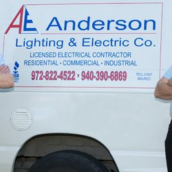 Anderson lighting electric company electricians flower mound photo of anderson lighting electric company flower mound tx united states aloadofball Images