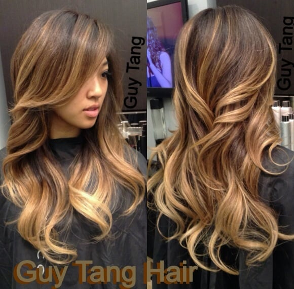 Guy tang signature ombr on dark hair yelp for A signature hollywood salon