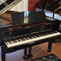 American music world 28 photos piano stores 7136 w for Yamaha c3 piano review