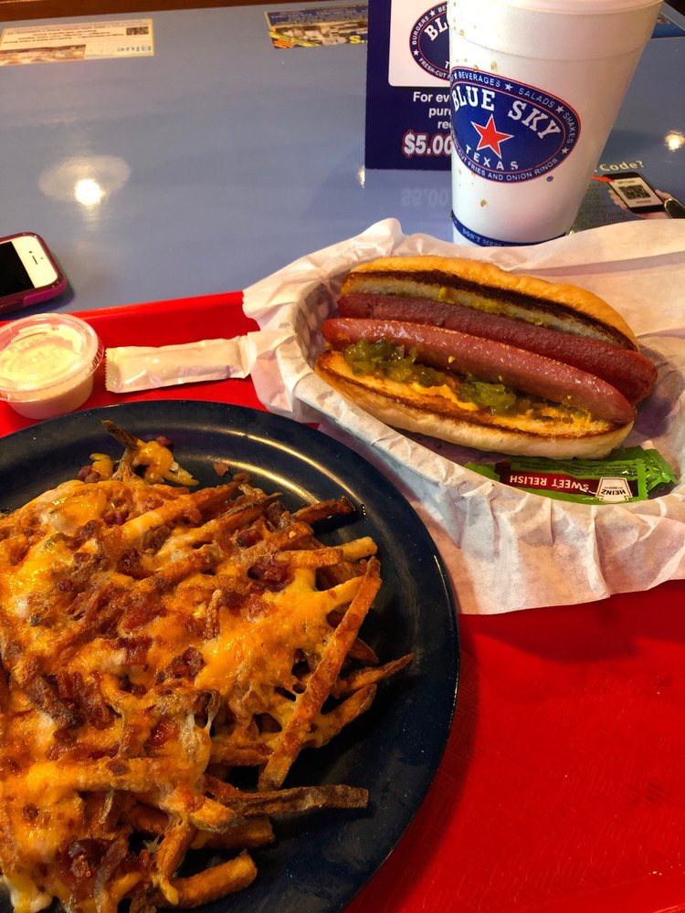 Food from Blue Sky Texas