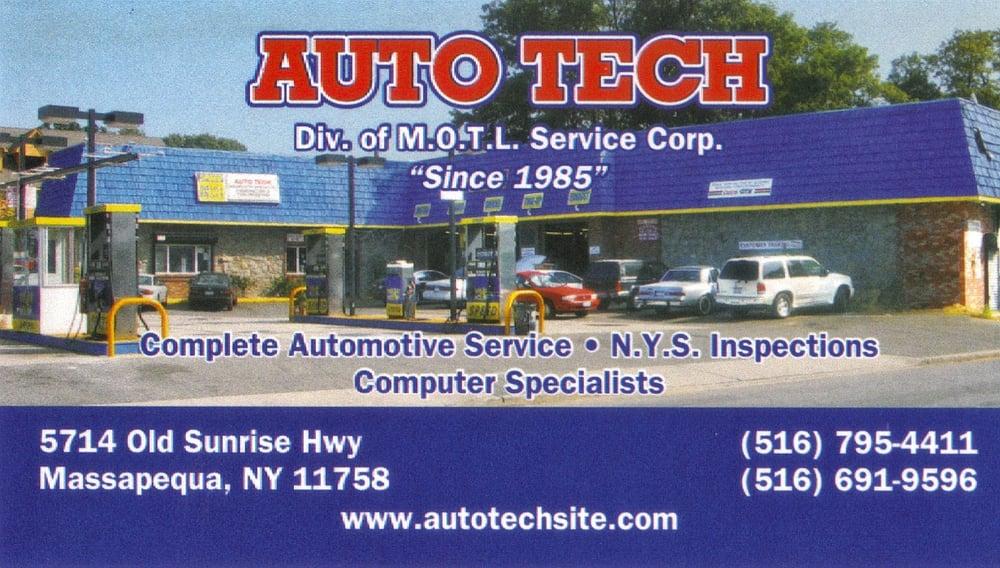 Auto Tech: 5714 Old Sunrise Hwy, Massapequa, NY