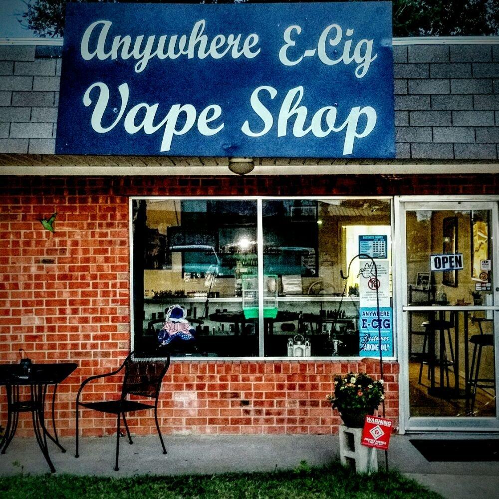 Anywhere E-Cig: 302 15th St, Canyon, TX