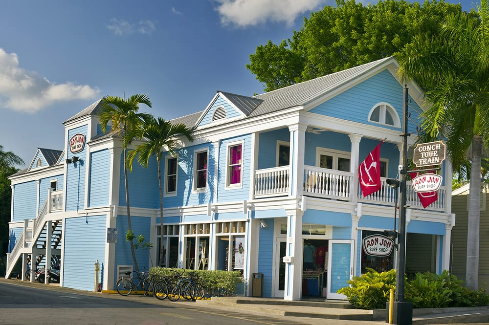 Ron Jon Surf Shop: 503 Front St, Key West, FL