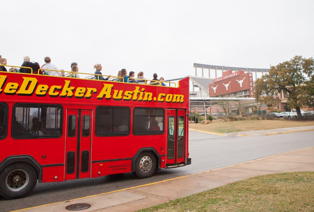 Double Decker Austin Tours Austin Tx