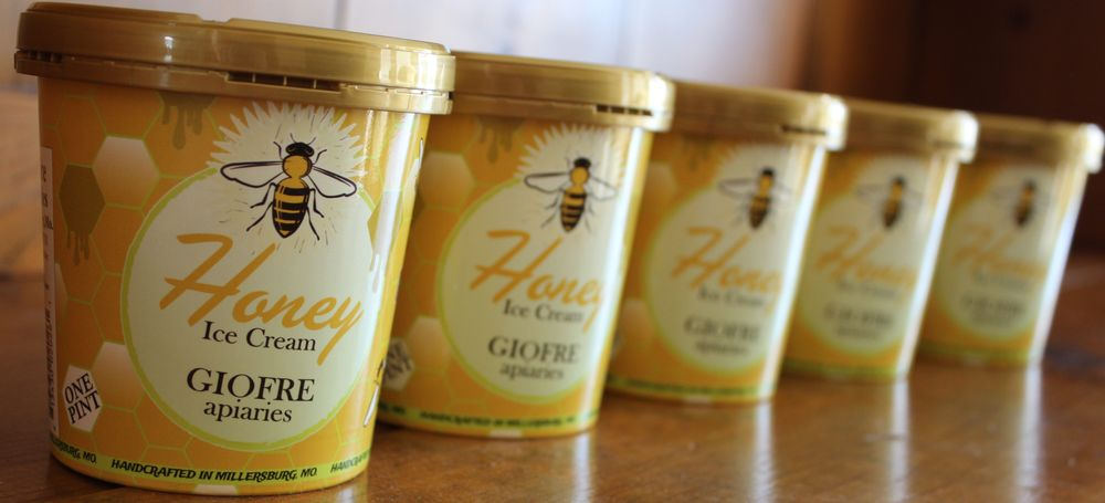 Food from Giofre Apiaries