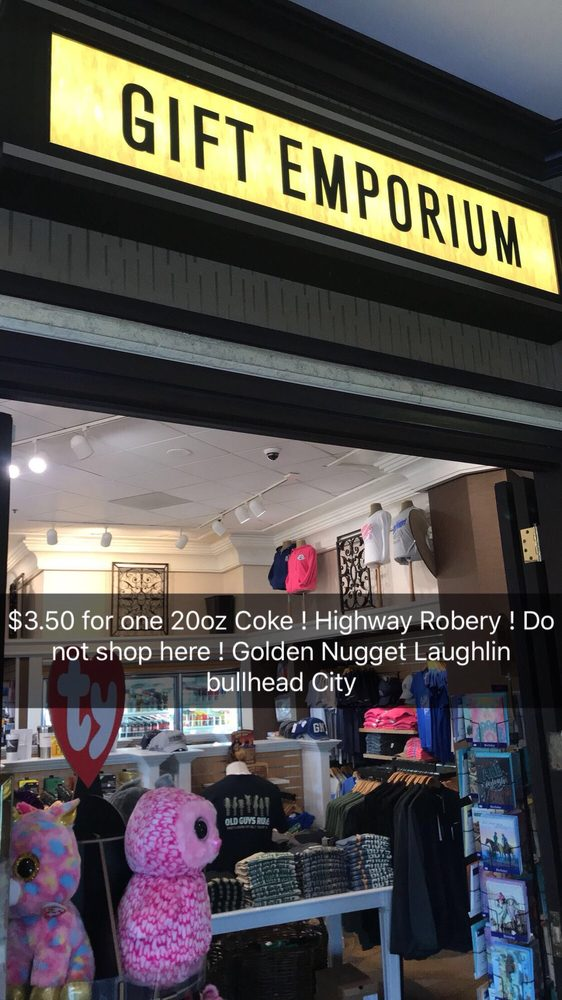 Gift Emporium Inside Golden Nugget: 2300 S Casino Dr, Laughlin, NV