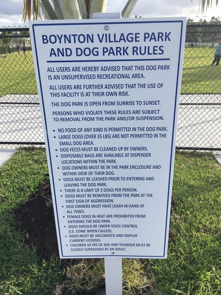 Boynton Village Dog Park
